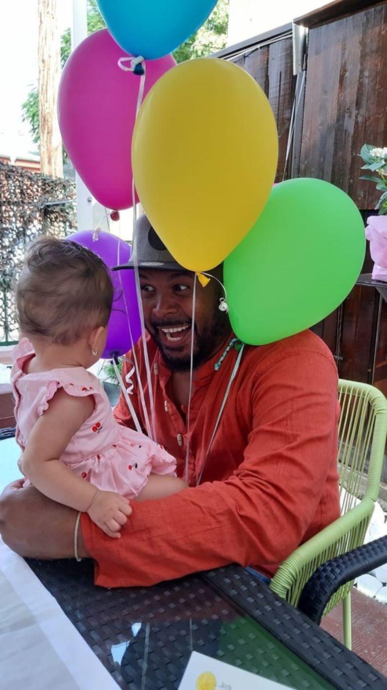 Prima fotografie cu fetița cea mică a lui Cabral!
