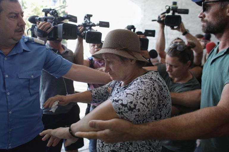Acuzații șoc pentru soția lui Gheorghe Dincă! Femeia a fost în curte în ziua în care a fost arsă Alexandra?