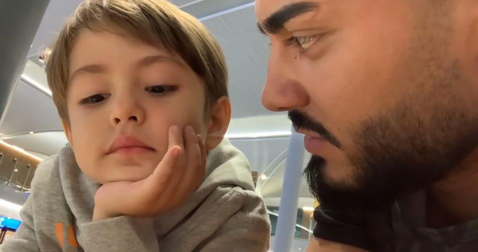 Jador a făcut vlog cu băiețelul Andreei Mantea! Dialogul lor este super-amuzant! Ce i-a mărturisit David concurentului de la Puterea dragostei