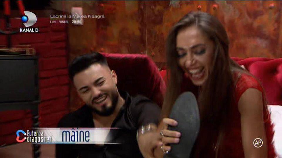 Promo Puterea dragostei 10 octombrie! Mariana și Jador, întâlnire fierbinte în camera roșie: