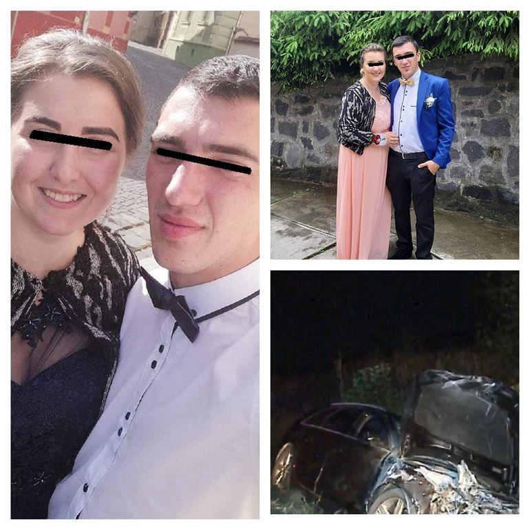 Cine sunt cei doi tineri care au murit în accidentul din Sibiu! Adina era gravidă în 7 luni, iar Lucian abia aștepta să-și strângă copilul în brațe