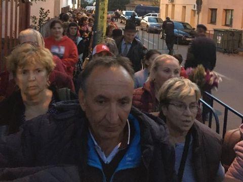Pelerinajul la Sfânta Parascheva s-a lăsat cu scandal. Jandarmeria a intervenit! VIDEO