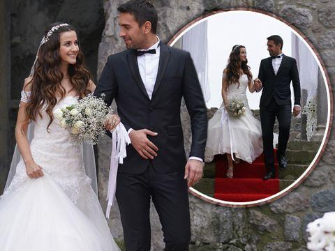 """Tahir și Nefes, nuntă ca-n povești, în """"Lacrimi la Marea Neagră"""""""