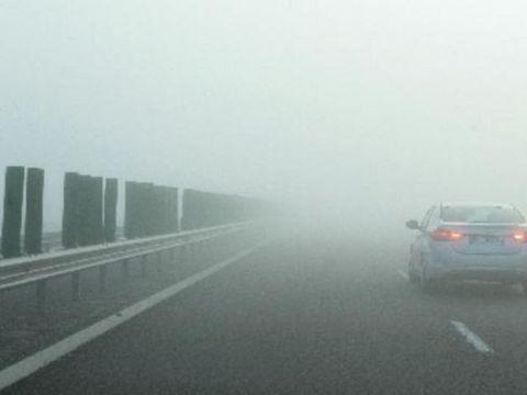 Cod GALBEN de ceață în mai multe județe din țară! Anunțul făcut de ANM