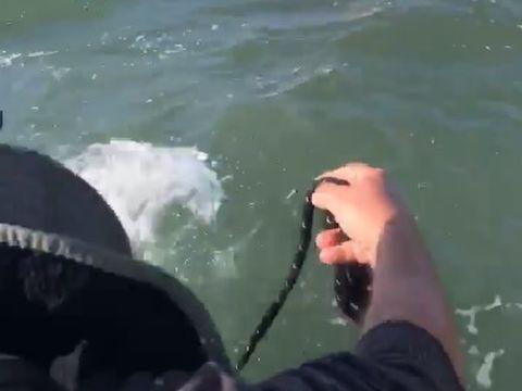 """Român salvat miraculos de la moarte din apele Pacificului. """"Ești din România? Ai înotat până aici?"""""""