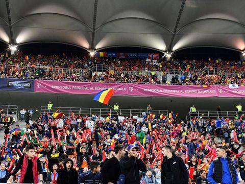 """Presa norvegiană critică dur atmosfera de pe Arena Națională: """"Sunete asurzitoare, tribale la București. Atmosferă haotică"""""""