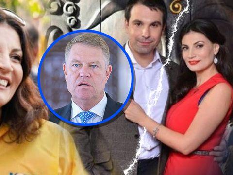 Ioana Ginghină intră în politică după divorţul de Alexandru Papadopol? Actriţa a ieşit pe străzi, în geacă galbenă, să îi facă campanie lui Klaus Iohannis!