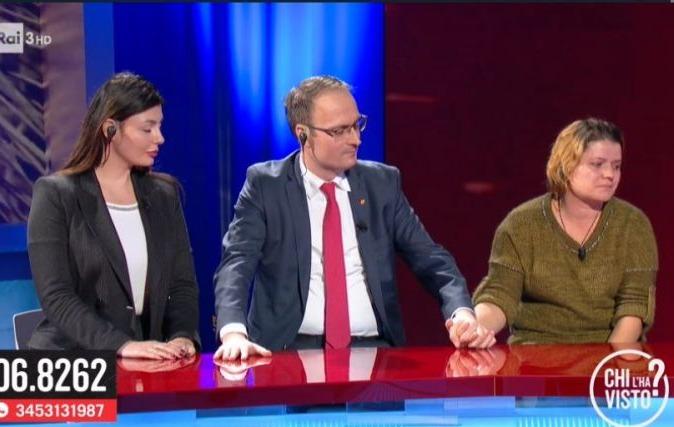 """Alexandru Cumpănașu și mama Alexandrei Măceșanu au ajuns la televiziunile italiene! """"Poliția, procurorii, politicienii sunt sclavii clanurilor interlope"""""""