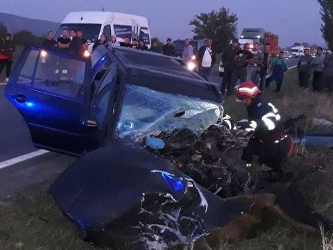 Accident tragic în Bacău! Un bărbat a murit, după ce și-a mutilat soția cu acid