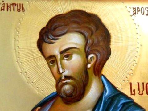 Calendar ortodox 18 octombrie. Sărbătoare mare azi: Este cinstit Sfântul Evanghelist Luca