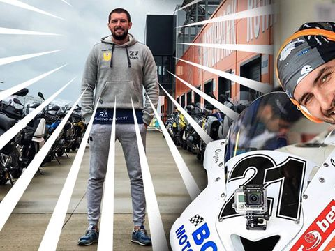 Cătălin Cazacu face reducere la motocicleta cu care a devenit campion şi pe care o vinde! Cine o vrea o poate plăti şi în rate!