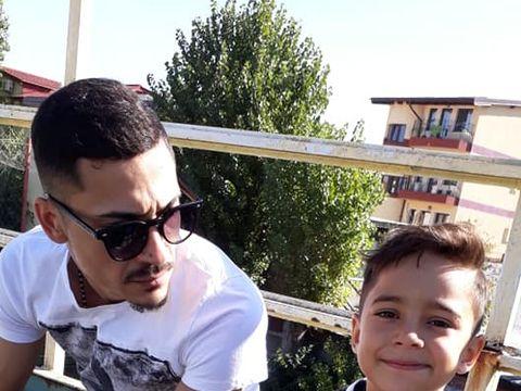 Babi Minune vrea să îşi facă fiul fotbalist! Manelistul supervizează antrenamentele lui David! FOTO