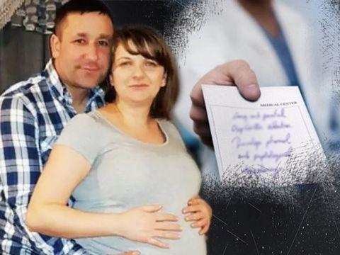 """Drama Stelei, românca trimisă acasă de la spital, deși avea contracții! Bebelușul ei a murit în burtă """"L-am ținut lângă mine până dimineața"""""""