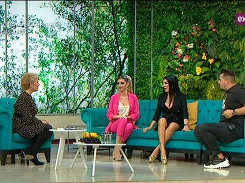"""Lorena și Andreea Tonciu, împreună la Teo Show! Mezina are deja două operații estetice și tot mai vrea: """"Vreau să mă simt bine în pielea mea"""""""