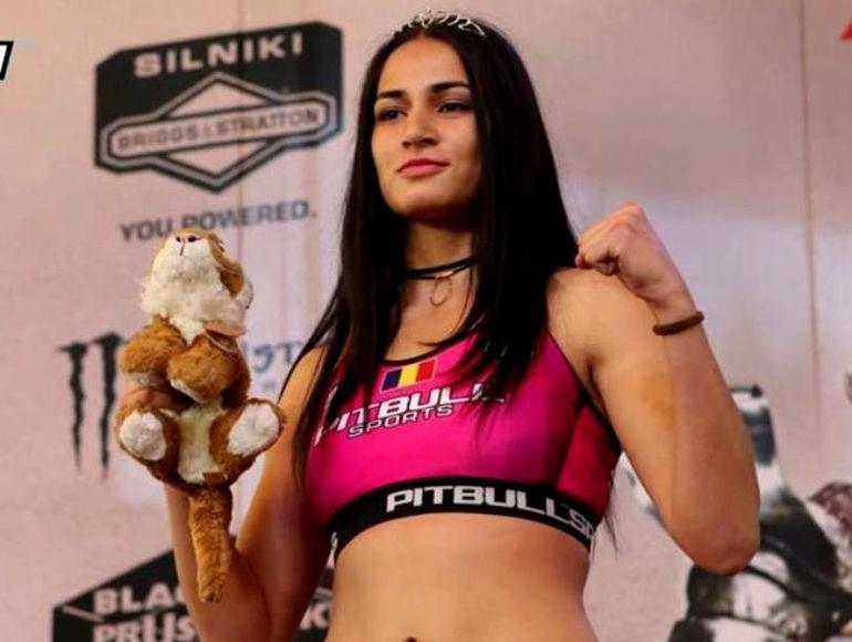 """Diana Belbiță, învinsă la scor, în ring! """"Prințesa Războnică"""" nu a devenit... regină"""