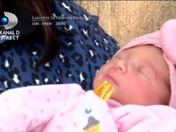 Maysa, fiica soților Maxer, prima apariție la televizor! Cum arată Maysa și cum se simte Deea după naștere