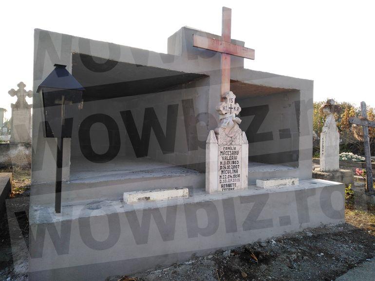 Imagini CUTREMURĂTOARE cu mormântul Alexandrei Măceșanu! Ce monument a făcut tatăl fetei la locul de veci al familiei FOTO EXCLUSIV