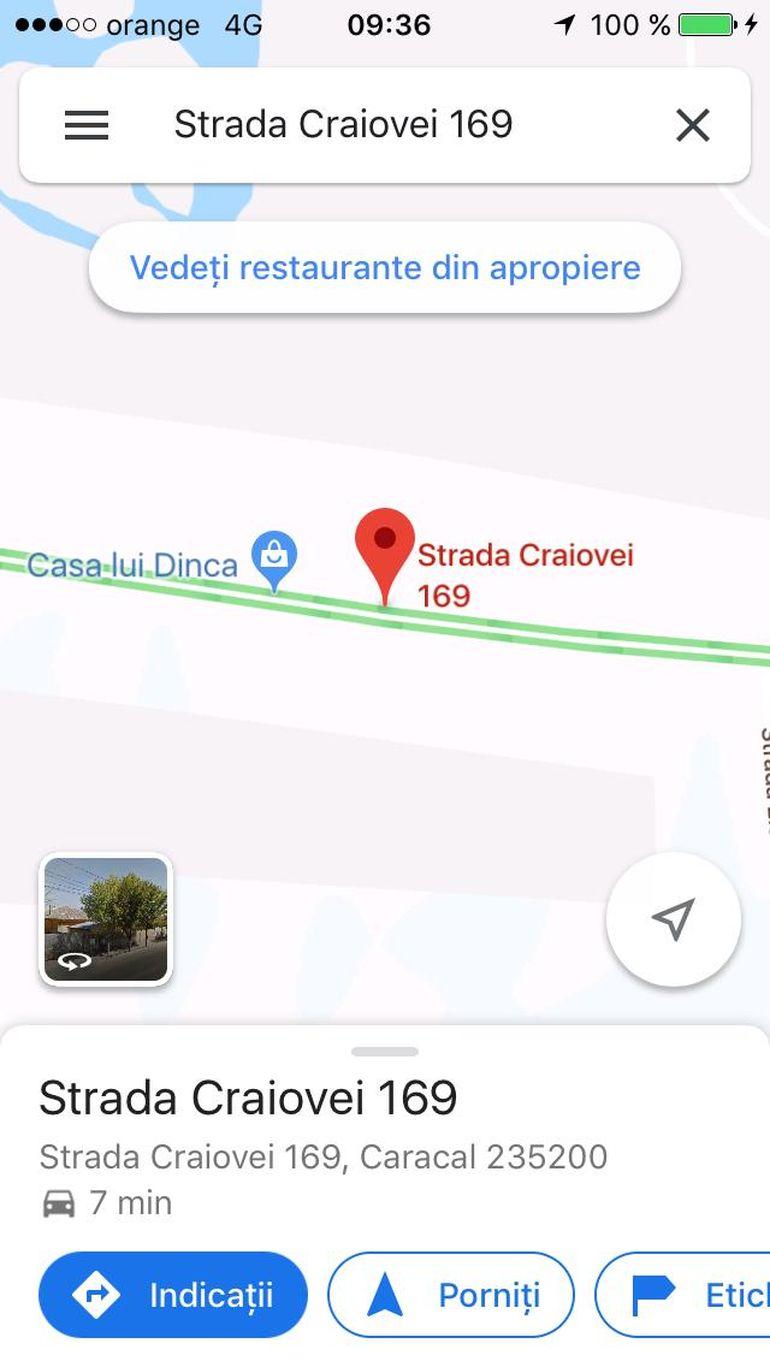 Unde s-a ajuns! Modul incredibil în care casa criminalului Gheorghe Dincă apare pe GPS! FOTO