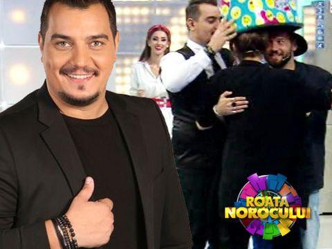 """Cocuța și Bogdan Boantă, pași de vals, cu oala pe cap, duminică, la """"Roata Norocului"""""""