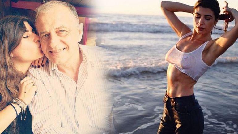 Fiica lui Mircea Geoană a pozat cu sfârcurile la vedere pe cea mai tare plajă din Los Angeles! Ana a arătat ca după un concurs de tricouri ude! FOTO