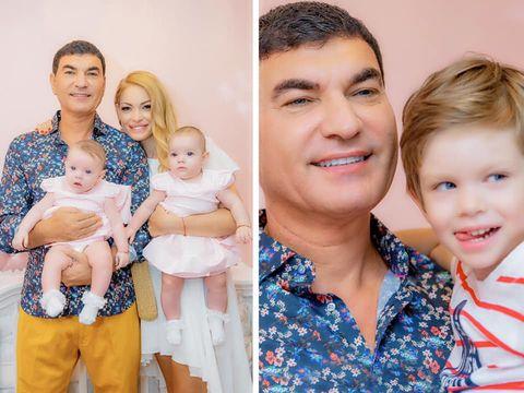 Cristi Borcea, primele imagini alaturi de Valentina Pelinel si copiii, dupa ce a fost eliberat