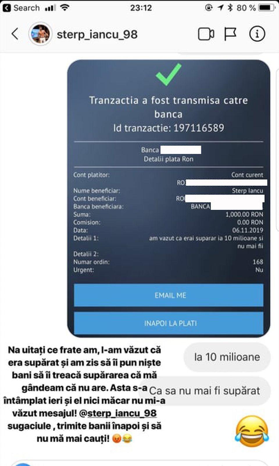 Culiță Sterp i-a dat bani fratelui Iancu, dar s-a enervat rău apoi: