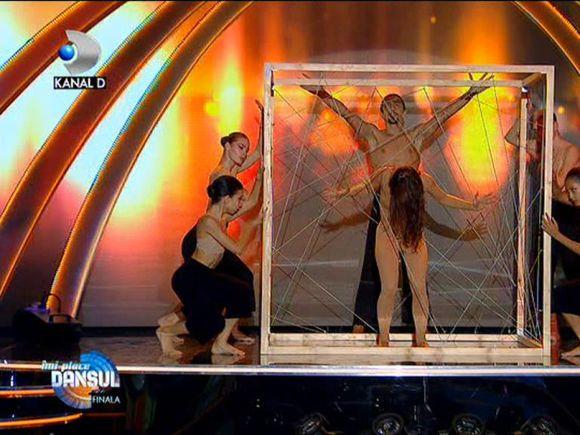 """Alina de la """"Îmi place dansul"""", cel mai original moment al serii! CRBL: """"M-am plictisit foarte tare"""""""