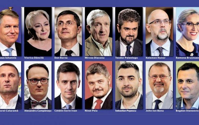 Rezultate OFICIALE ale primului tur pentru alegerile prezidențiale! Ei se vor bate în turul II pentru funcția supremă în stat