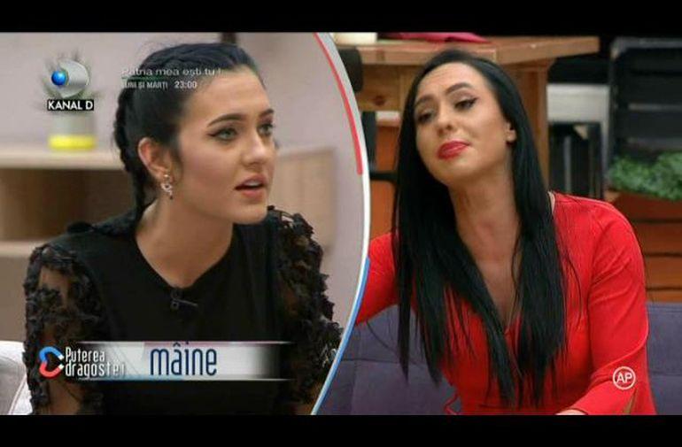 Promo Puterea Dragostei 12 noiembrie. Bianca și Ella se ceartă! O nouă concurentă intră în casă, dar e luată la rost de fete! Cine e Andreea