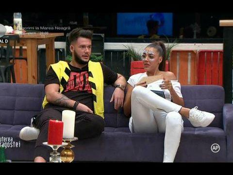 Incredibil! Ricardo și Raluca s-au despărțit, după ce concurentul de la Puterea Dragostei a aflat de la televizor că ea s-a împăcat cu fostul