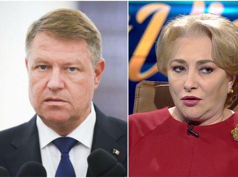 """Klaus Iohannis, despre dezbaterea publică cu Viorica Dăncilă: """"Nu poate fi niciun schimb de idei cu reprezentanta unui PSD nereformat"""""""