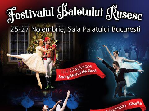 Mai sunt doar două săptămâni până la Festivalul Baletului Rusesc de la București