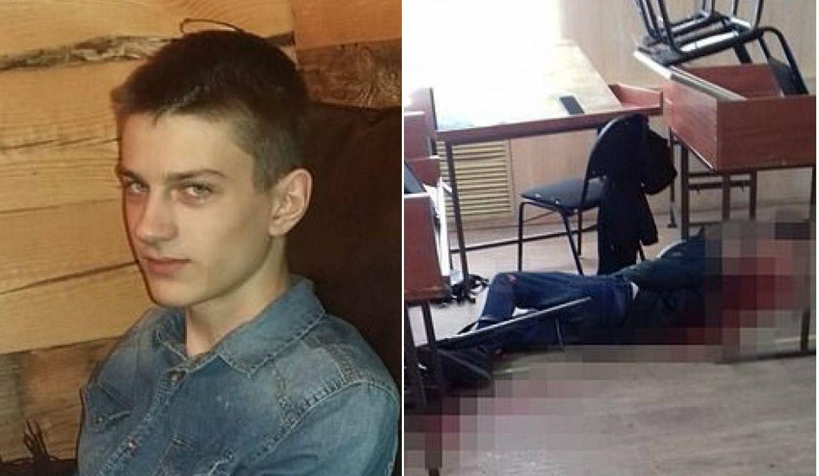 Atac armat la școală! Daniil și-a omorât colegul, apoi s-a sinucis. Profesoara îl scosese din sărite