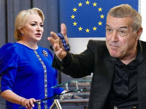 Gigi Becali a fost coleg cu Viorica Dăncilă! Cei doi au semnat împreună o declaraţie scrisă în Parlamentul European împotriva despăduririlor!