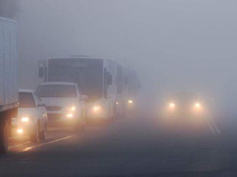 Alertă de cod galben de ceață. Care sunt județele afectate