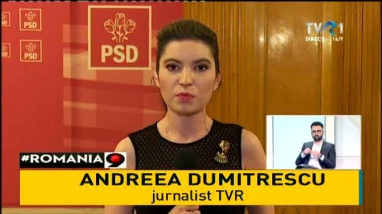 """Cine este jurnalista care a întrebat-o pe Dăncilă cum se calculează aria cercului? Andreea Dumitrescu, considerată """"prea agresivă"""" de șefii PSD și forțată să-și dea demisia"""