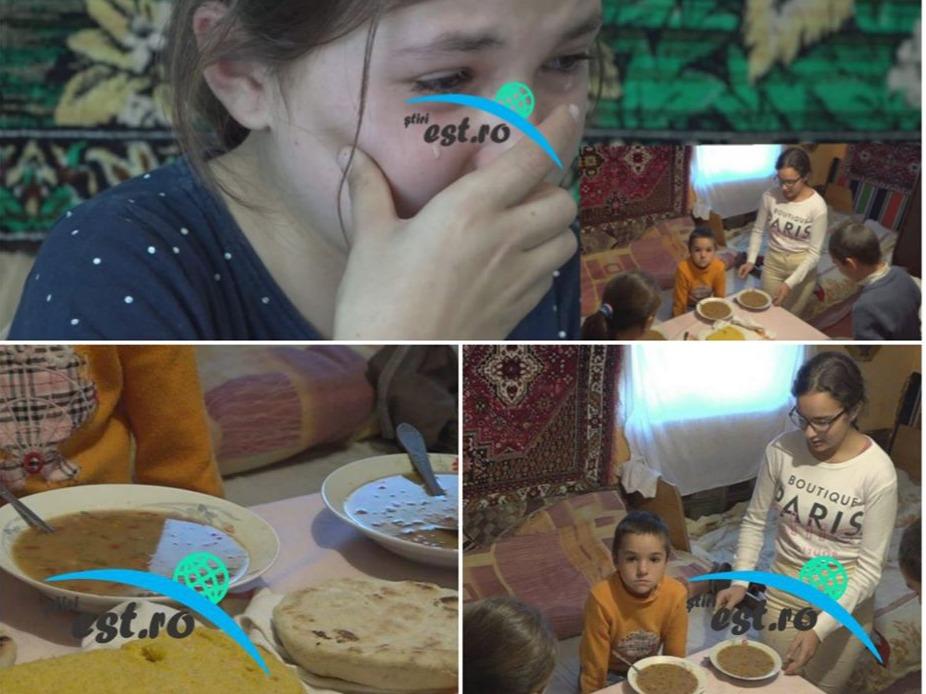 Cinci frați plâng de foame și își fac temele pe jos. Nu au jucării și împart același pix. Povestea tristă de viață a unei familii dintr-un sat uitat de lume