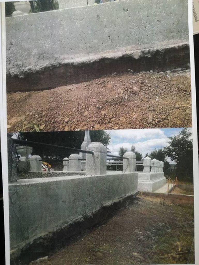 Caz șocant într-un cimitir din Iași!  Un mormânt a fost mutat cu buldoexcavatorul în mod ilegal, pentru a face loc unui alt mort