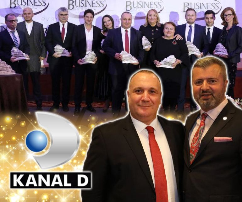 Ugur Yesil, CEO si Executive Board Member Kanal D, a fost desemnat CEO-ul anului in cadrul Galei Business Arena Awards for Excellence 2019