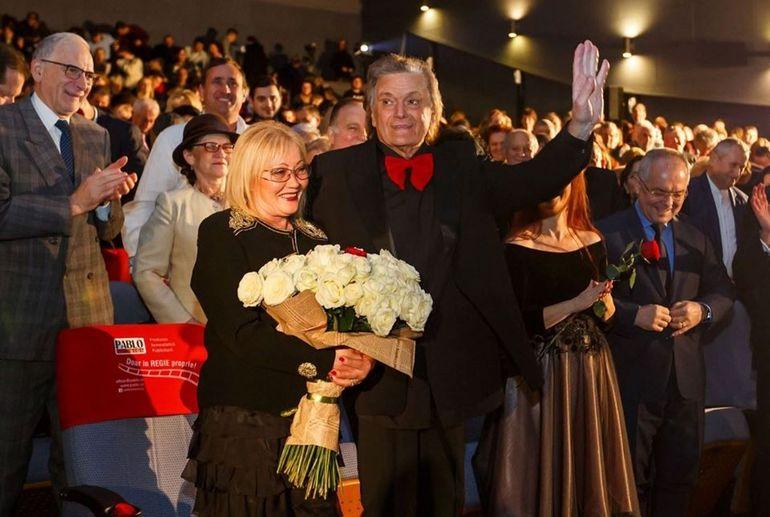 Zi mare pentru Florin Piersic! Marele actor și-a sărbătorit soția FOTO
