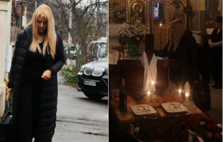 Ea este Viviana, femeia care a adus trupul lui Cornel Galeș în țară. S-a apropiat de sicriu și a...