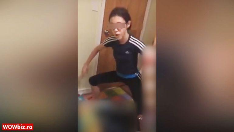 """INCREDIBIL! Ce a ajuns să facă Sorina în America, la noua ei familie adoptivă? Sorina a fost filmată făcând gesturi cu tentă sexuală sau imitând fumatul! """"E scandalos până la cer!"""" EXCLUSIV"""