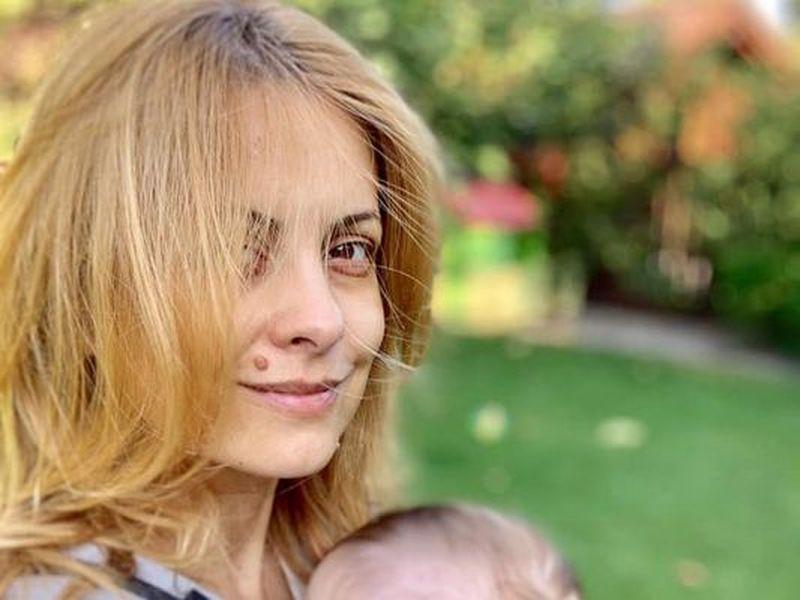 Simona Gherghe și băiețelul ei
