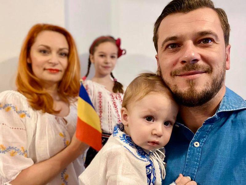 Dan Cruceru și familia
