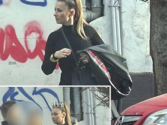 Anamaria Prodan a ieșit din casă cu coroana scumpă pe cap!