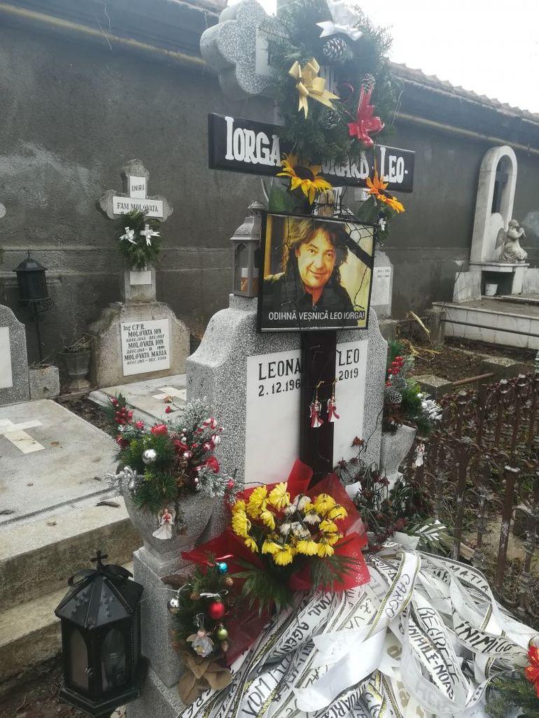 Paula Iorga, nelipsită de la mormântul Lui Leo Iorga. Ce face văduva pentru a-și alina durerea