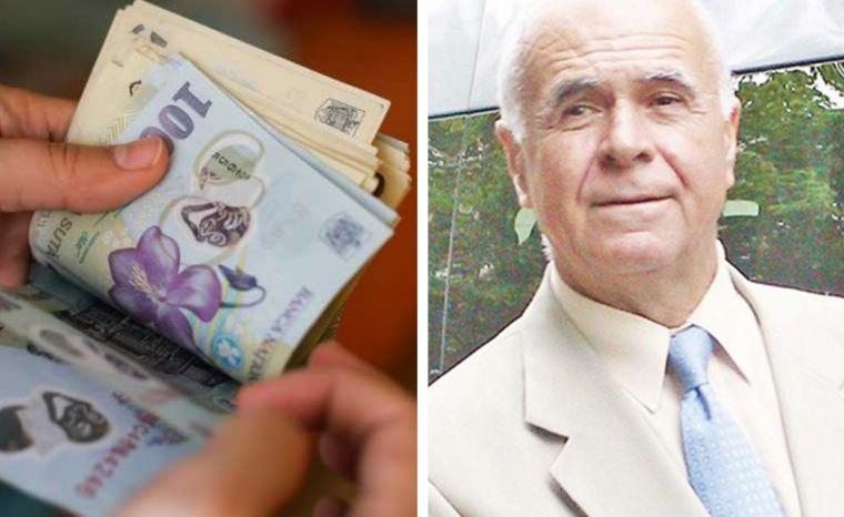 El este bărbatul cu cea mai mare pensie din România. Ce a muncit la viața lui