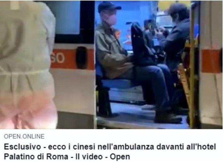 Prima poză cu românul din Italia, suspect de coronavirus! Ce legătură există între bărbat și cei doi chinezi infectați