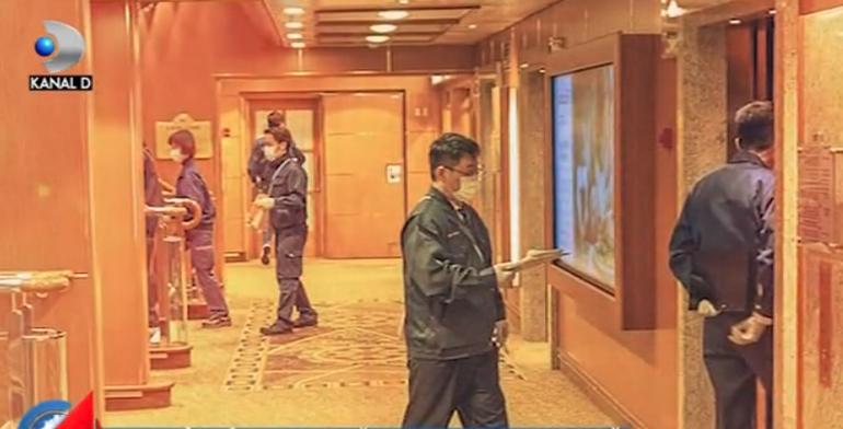 """15 români aflați pe vasul de croazieră plasat în carantină din cauza coronavirusului: """"Pasagerii nu au voie să iasă din cabine, sunt izolați!"""""""