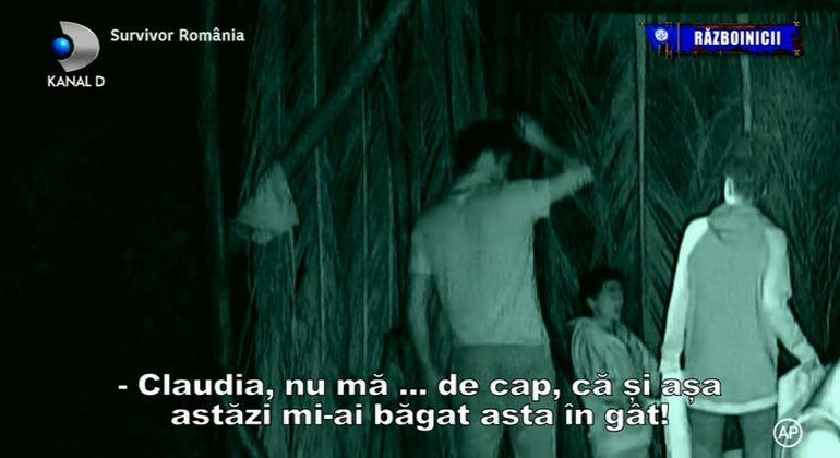 """Survivor România! Conflict între două concurente din tabăra Războinicilor: """"N-ai cum să fii așa de rău și tu spui că ești omul lui Dumnezeu!"""""""